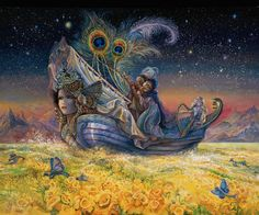 Lady Ship by Josephine Wall