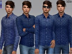 The Sims Resource: Cody Shirts by Margeh-75 • Sims 4 Downloads