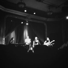 Last night I took myself out on a date to see the band Joseph perform at a venue in my neighborhood. It was an absolutely brilliant experience. I kid you not I wept when they performed my favorite song of theirs as the encore. #josephband #forthesakeofthestory #concert #blackandwhite #soloadventure #liveadventurously by mckenzi.jo