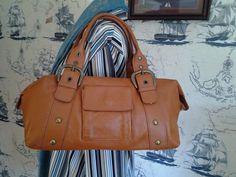 Deborah Gallo Made In Italy Brown Soft Pebbled Leather Satchel Handbag   DeborahGallo  Satchel Leather 303d28b6e0462