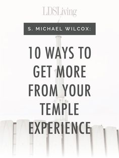 This list of tips will help any member have more powerful and personal experiences within the walls of the Lord& house. Lds Talks, Lds Church, Church Ideas, Church Quotes, Temple Quotes, Lds Quotes, Mormon Quotes, Spiritual Thoughts, Scripture Study