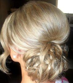 Upstyles by All Things Girlie hair & makeup artistry