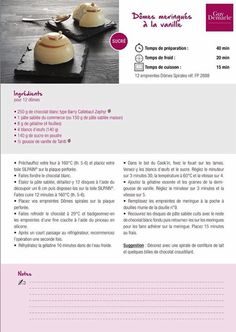 Recipe Cards, Mousse, Sweets, Cookies, Cake, Recipes, Food, Sweet Recipes, Thermomix