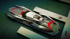 Is it a car or is it a yacht? Gray Design unveil the Kraken, a superyacht inspired by a super motor. Yacht Design, Boat Design, Super Yachts, Kraken, Lamborghini, Below Deck, Yacht Boat, Used Boats, Luxury Yachts