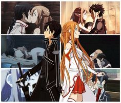 Sword art online... Will I ever have anyone who is half as close to me as Kirito and Asuna…? :(