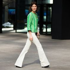 25 Pairs of Shoes to Wear With Those New Flares: You've been paying attention and you've finally pulled your flares out of hiding or gone and bought a new pair in time for Spring.