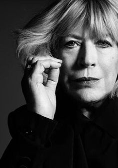 Marianne Faithful- over 70- so much more interesting today than just being pretty