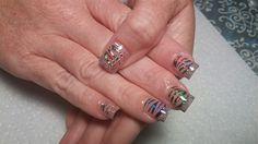 Wild Foil by nailsbykaesi - Nail Art Gallery nailartgallery.nailsmag.com by Nails Magazine www.nailsmag.com #nailart  #Acrylic #nails #boise #nampa #CALDWELL #meridian #Kuna #IDAHO #EZFLOW #nailtech #Acrylicnails #nailartist #nailpro