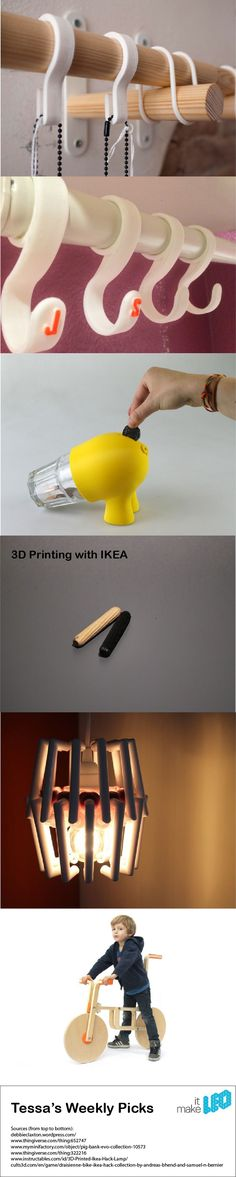 3D Printing with IKEA - Tessa's Weekly Picks - Make it LEO Maybe something for 3D Printer Chat?