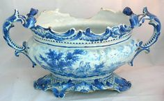 Early 18th Century Delft Planter