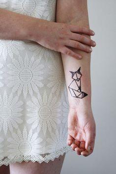 fox tattoo designs