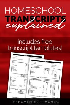Free transcript template download (with GPA calculations) and details of everything you need to know about creating a homeschool transcript for high school. #homeschool #thehomeschoolmom #homeschoolinghighschool School Jobs, School Plan, School Stuff, School Ideas, School Info, Law School, Public School, Homeschool Transcripts, Homeschooling Resources
