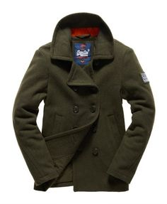 Giacche | Hot Superdry Rookie Pea Coat E73j7509