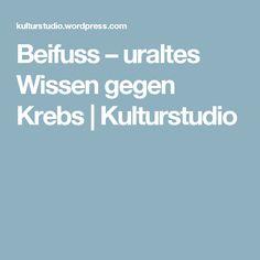 Beifuss – uraltes Wissen gegen Krebs | Kulturstudio