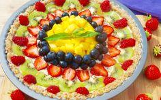 PURE Summer Fruit Tart
