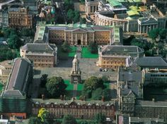 Trinity College, Dublin, got to stay in the dorms with friends attending law school one summer