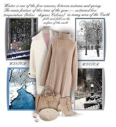 """""""Winter season!"""" by sarguo ❤ liked on Polyvore featuring Pottery Barn, Olympia Le-Tan, Chicwish, Balenciaga, MICHAEL Michael Kors and Madewell"""