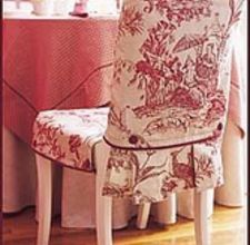 Chair covers!