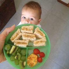 toddler lunch ideas. I'll need this soon.