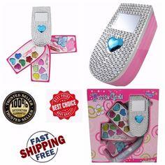Holidays Gift Girls Cell Phone Shaped Cosmetics Play Set Fashion Makeup Kids Kit #LibertyImports