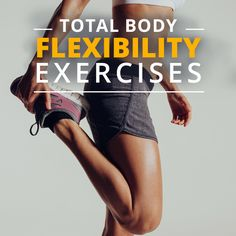Stretch it Out- Total Body Exercises for Increased Flexibility. Don't get stiff, tight muscles. When your muscles are stretched your whole body feels better and you feel more relaxed:)! #stretches #flexibility