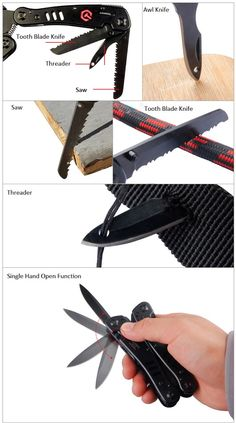 Multi - Purpose Ganzo G302B Multi Tool with Screwdriver Kit for Outdoor Camping
