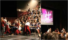 The Voice op SJP Blankenberge, een succes van de leerlingenraad 2de graad!