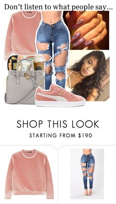 """Easy"" by badleaa on Polyvore featuring Maje and Puma"
