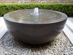 Why You Should Invest In Simple Water Features For Your Home Garden – Pool Landscape Ideas Stone Fountains, Garden Fountains, Outdoor Fountains, Garden Ponds, Sunken Garden, Koi Ponds, Water Fountains, Rock Fountain, Front Courtyard
