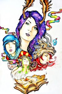 """Image of Limited Edition """"Haunted Youth"""" 12x18in Prints"""