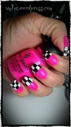 Checkers and pink..y not