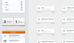 Assignments - simple, minimal details look outstanding here.