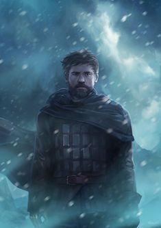 Jaime Lannister - Game of Thrones Game Of Thrones Illustrations, Game Of Thrones Artwork, Game Of Thrones Fans, Valar Dohaeris, Valar Morghulis, Got Characters, Game Of Thrones Characters, Cersei And Jaime, Jaime Lannister