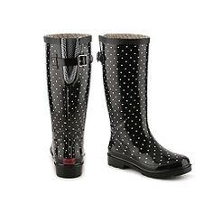 Chooka Micro Classic Dot Rain Boot