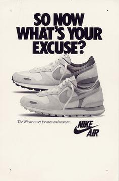 c2101810d9 Nike Air Windrunner 1986 Ad Será que existe uma linha vintage desse tenis?