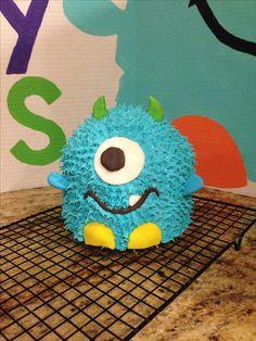 Monster birthday cake first birthday boy cake