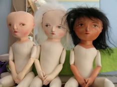 How To Make Doll Hair   Monthly Archives: February 2005   Mimi Kirchner
