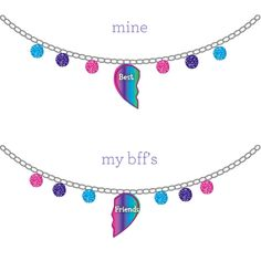 Win free jewelry for a year by entering the Sweepstakes, or by designing your own BFF necklace! Enter Now!