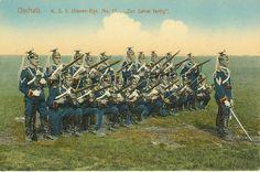 Die Grundausbildung eines Kavalleristen der 17er Ulanen dauerte ein Jahr.