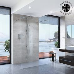 Handmade in the UK, the Spectra SP440 Double Entry Shower Screen in frameless 8mm toughened glass, with a height of 1950mm and polished edges is the perfect addition if you want to create a wetroom look. Gleaming glass and polished chromecomponents are used to produce this stunning range, durable and functional, a pleasure both to look at and use. The option of etched glass can provide that extra touch of modesty.
