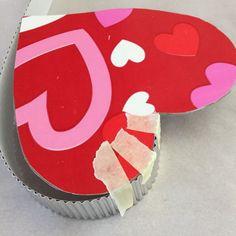 Recycled Soda Bottle Heart Shaped See-thru Box