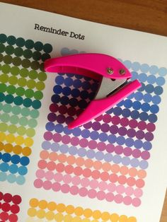 "1/4"" Reminder Dots - Free planner printable stickers - My Planner Envy"