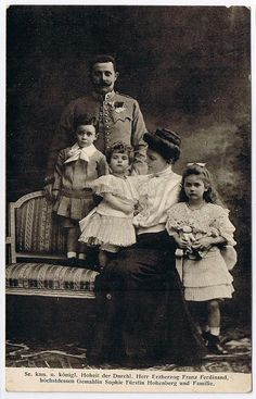 Franz Ferdinand and his family