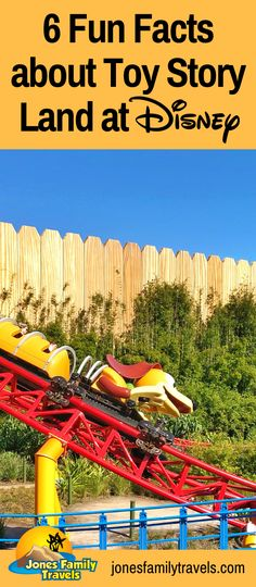 We love the Toy Story Land at Disney's Hollywood Studios. We share some fun facts you may not know about this area. #disney #disneyworld #waltdisneyworld
