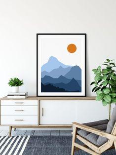 Minimalist Painting, Minimalist Art, Minimalist Landscape, Minimalist Photos, Minimalist Bedroom, Abstract Wall Art, Abstract Landscape, Landscape Prints, Acrylic Wall Art