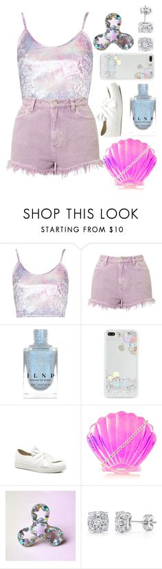 """""""HOLO"""" by summertime-sadness ❤ liked on Polyvore featuring Miss Selfridge, Skinnydip, Bliss and mytaglist"""