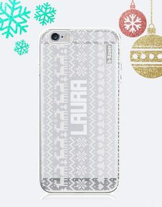 funda-movil-christmas-minimal-personalizada-2 Phone Cases, Christmas, Collection, See Through, Mobile Cases, Xmas, Yule, Christmas Movies, Noel