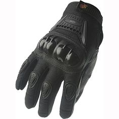 Street Bike Full Finger Motorcycle Gloves 09 XL blacksilver ** Check out this great product.