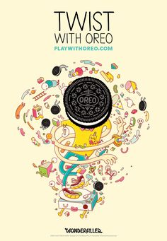 Oreo Obtiene 10 artistas para producir maravillosamente ensueño al aire libre Ilustraciones | Adweek