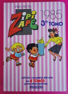 Vintage Zipi Zape / Tomo Zipi Zape 1985 | por misstaito